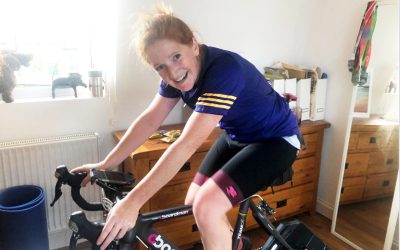 Paws for a Cause: Cycling 240 miles. In a day. On a turbo trainer in Lockdown